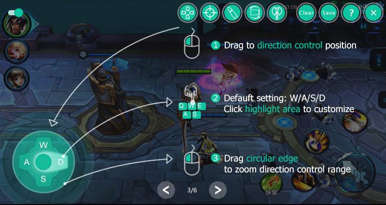 WASD-enhancement