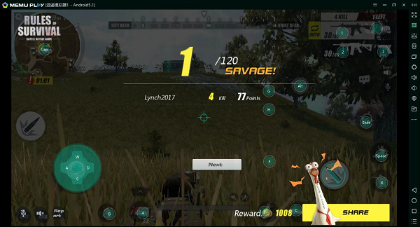rules of survival apk appvn