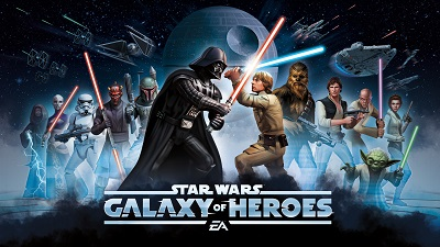 Star War galaxy of heroes on PC