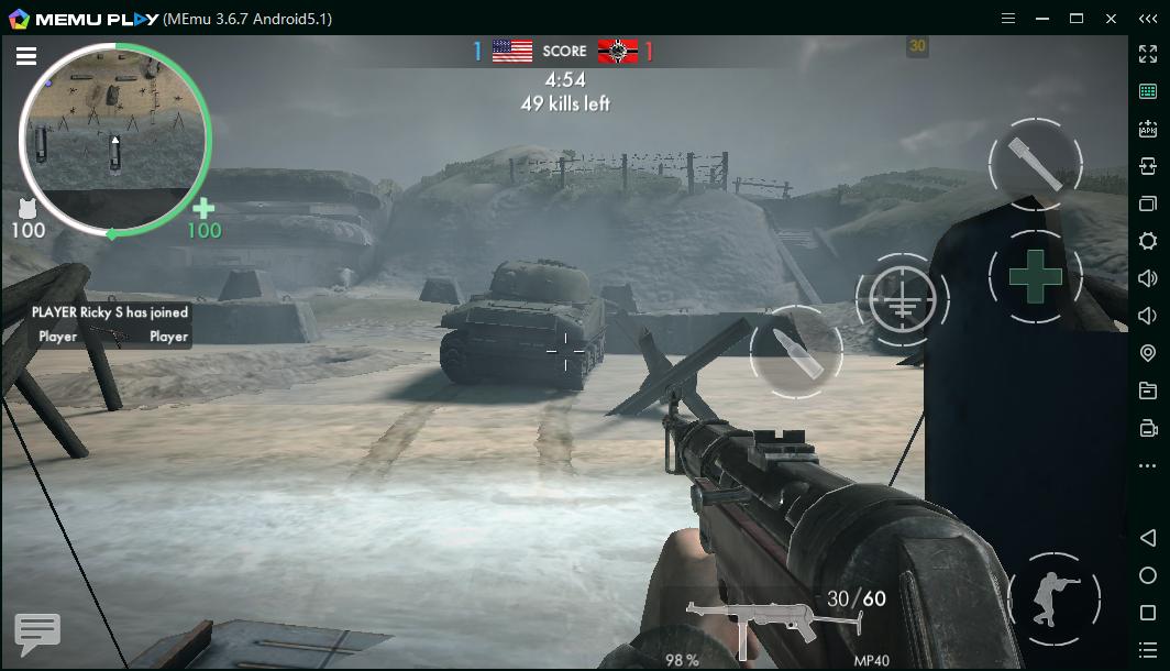 Play World War Heroes on PC