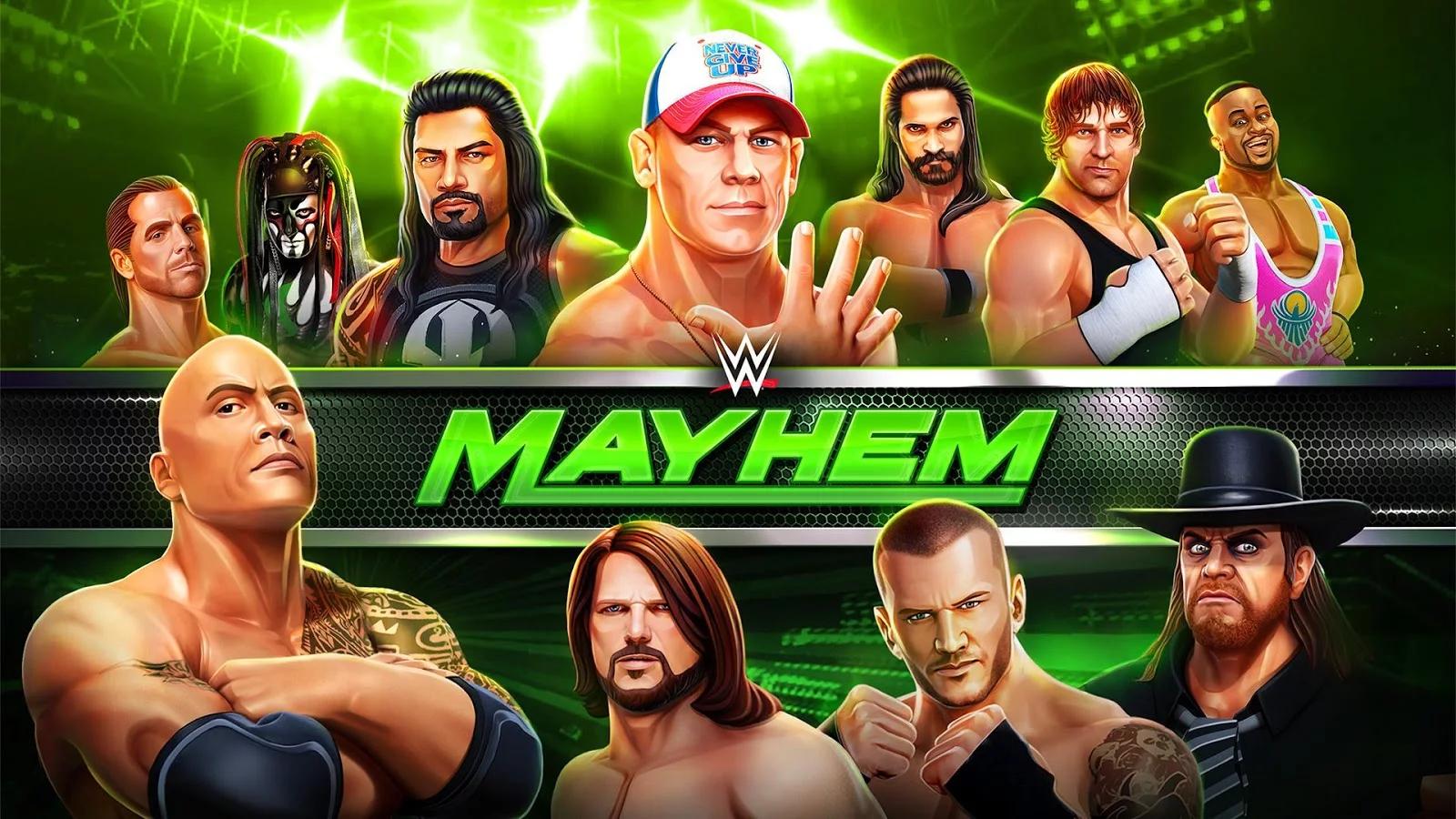 WWE Mayhem on PC