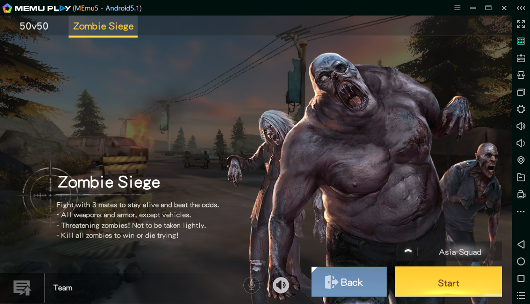 Zombie siege in Knives out