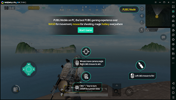 Play PUBG Mobile on PC with Smart F Key