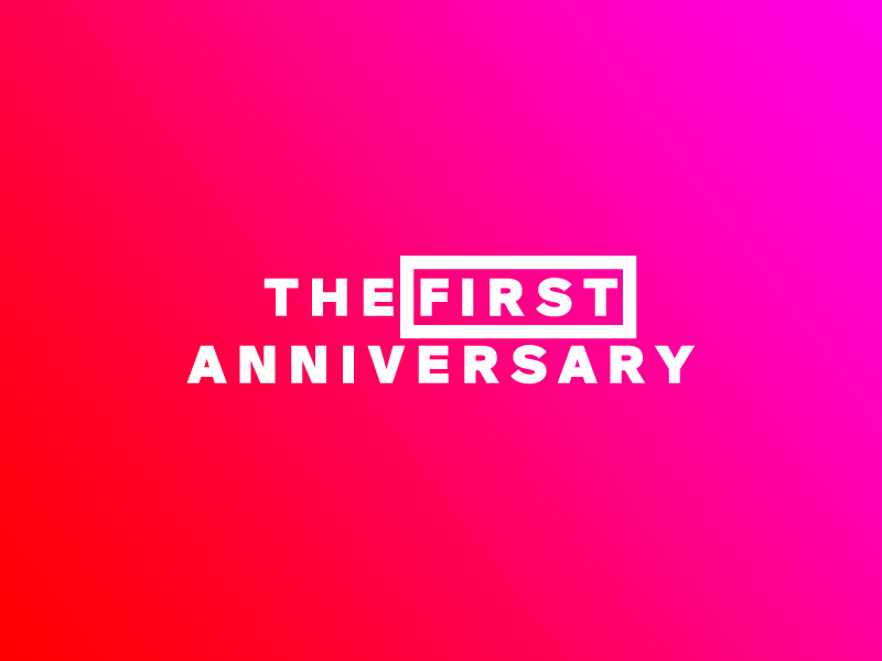FIRST-ANNIVERSARY