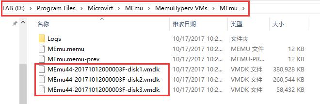 VM-folder
