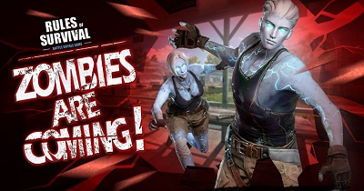 Rules of Survival Zombie Mode