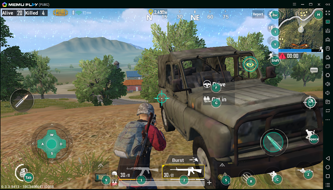 Play PUBG Mobile on PC with Smart F Key - MEmu Android Emulator