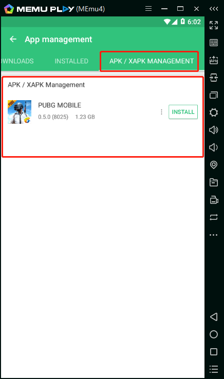 How to install XAPK on MEmu (Take PUBG Mobile for example