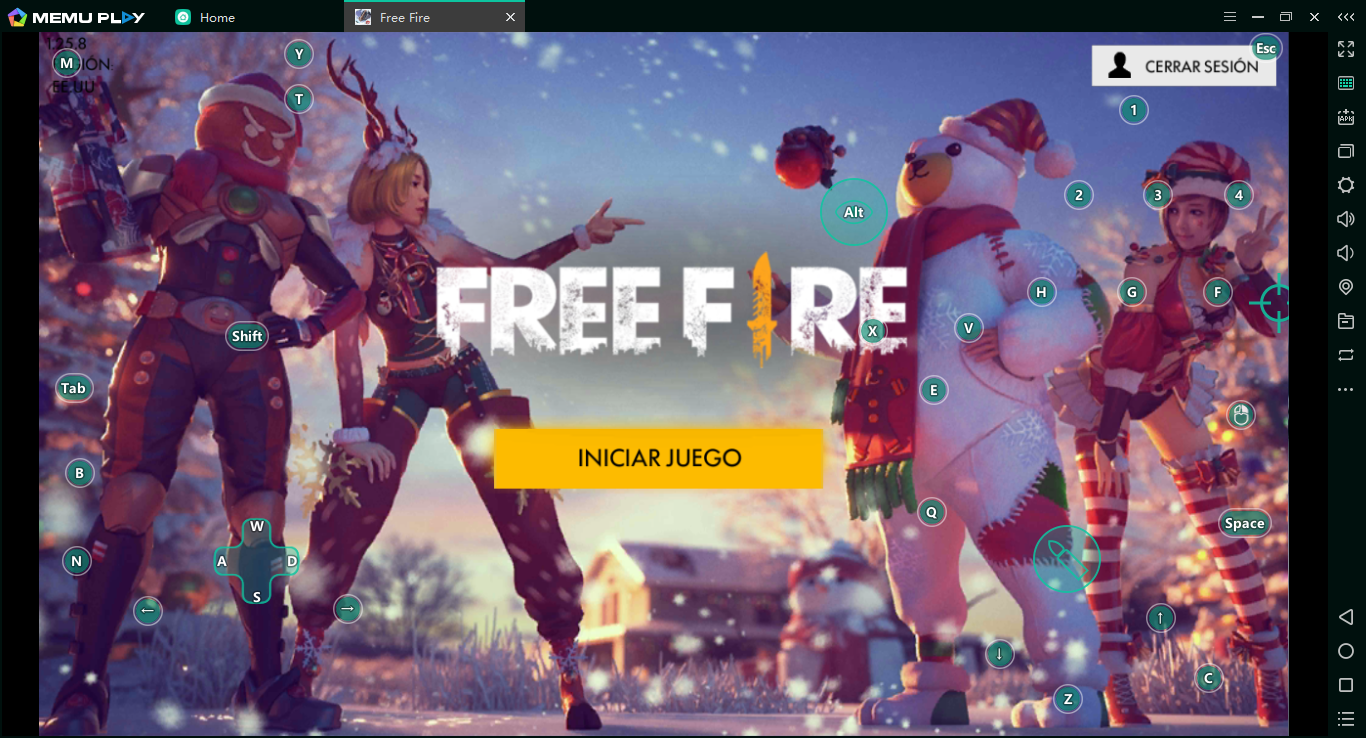 Iniciar Free Fire