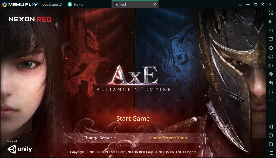 Axe loading
