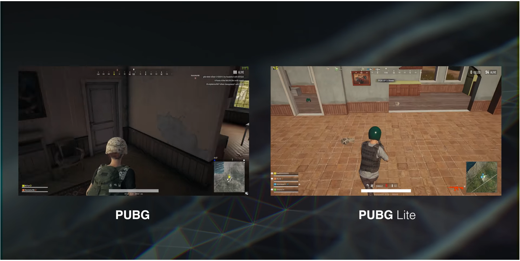 pubg vs pubs lite