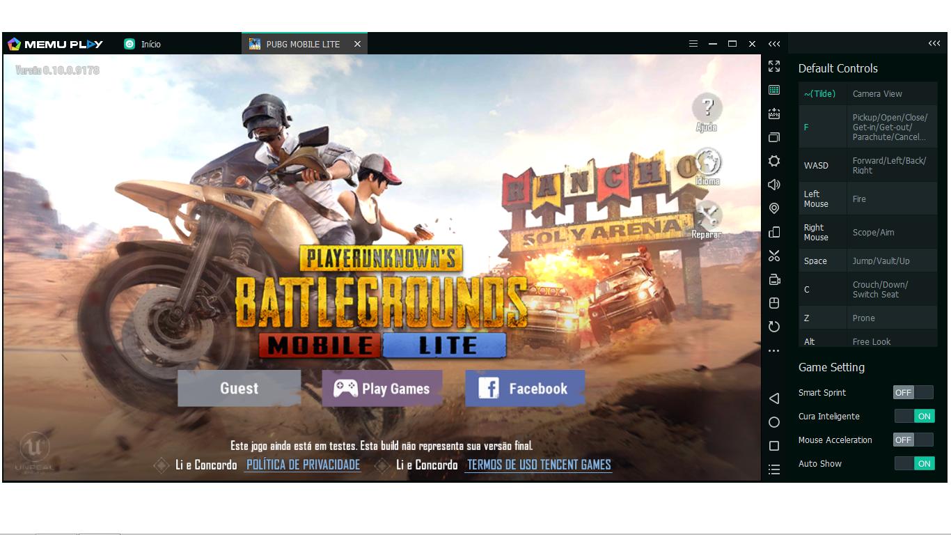PUBG M Lite 720p