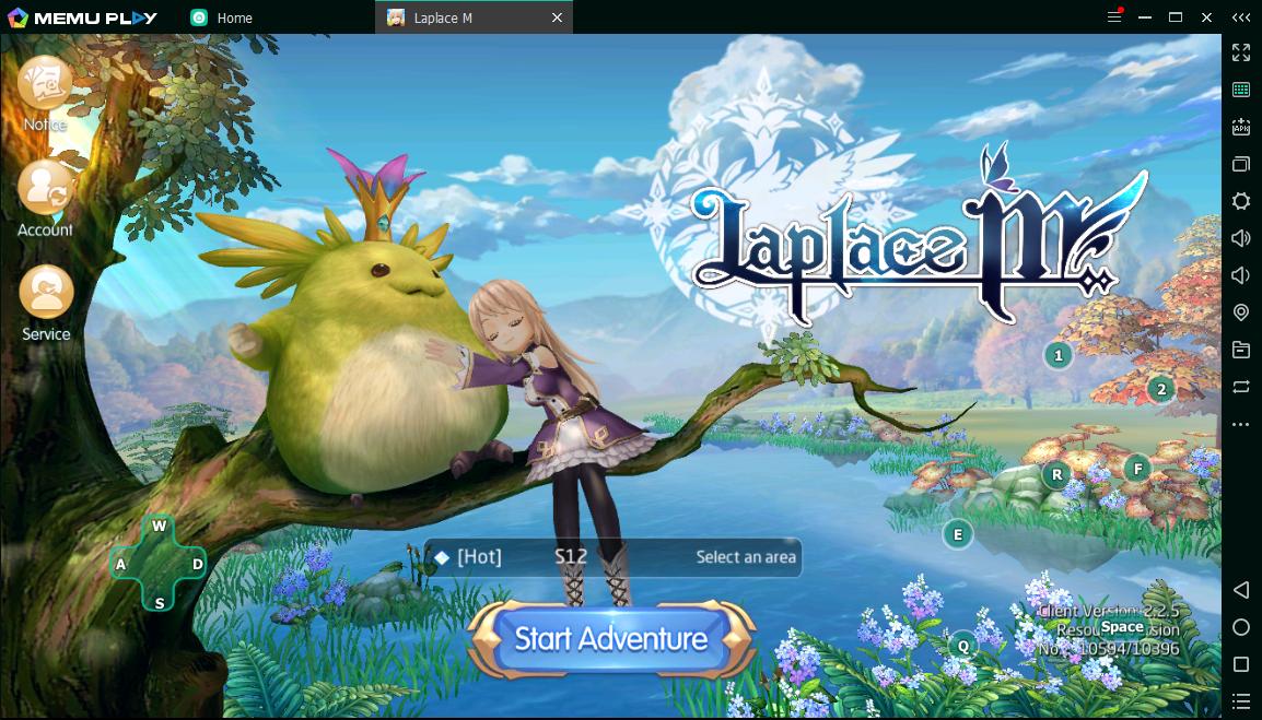 Download dan Bermain Laplace M di PC