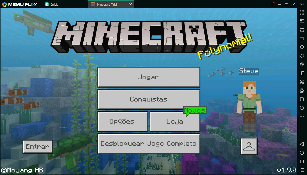 Jogar Minecraft Trial PC