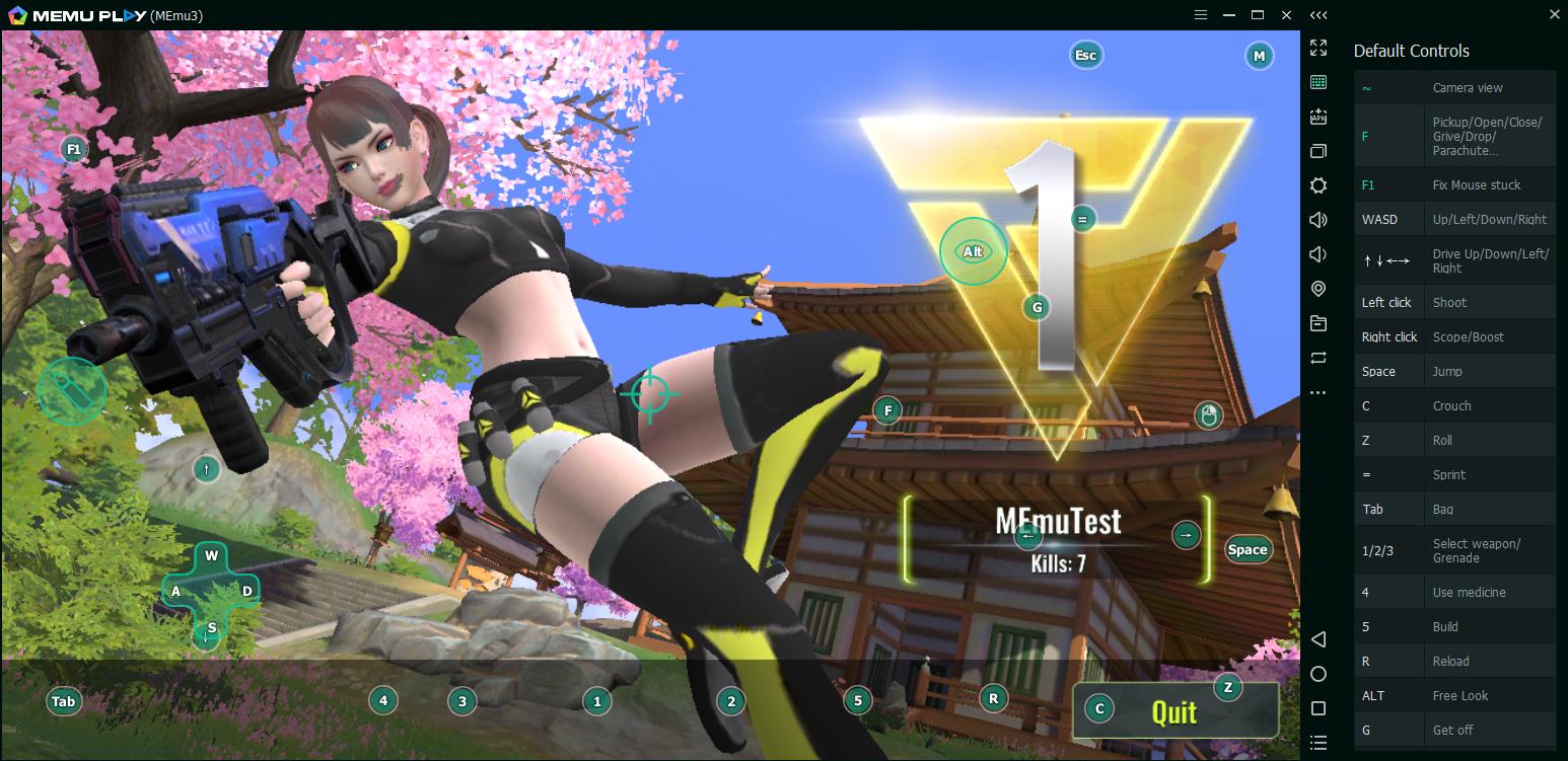 เล่น Cyber Hunter บนคอมด้วยMEMU