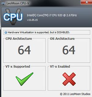 كيف تفعل Hardware Virtualization