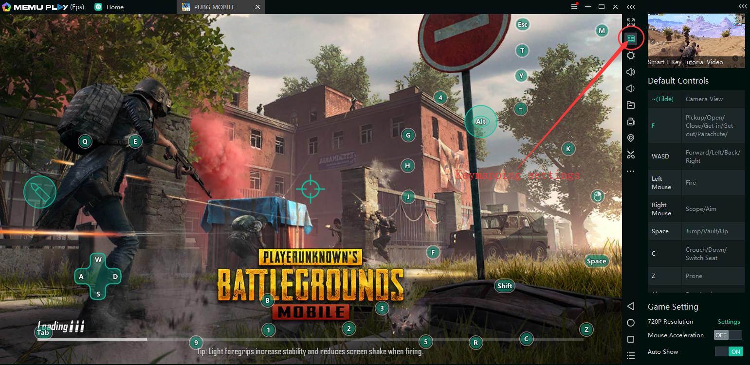How to fix Smart Keymapping issue in PUBG M - MEmu Android