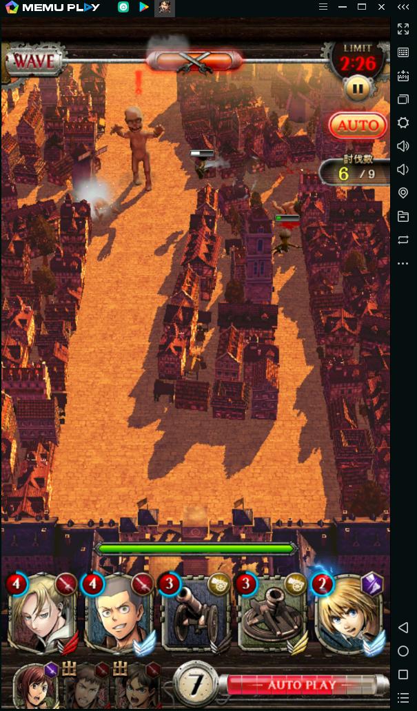 PCで「進撃の巨人 TACTICS」を楽しめる方法