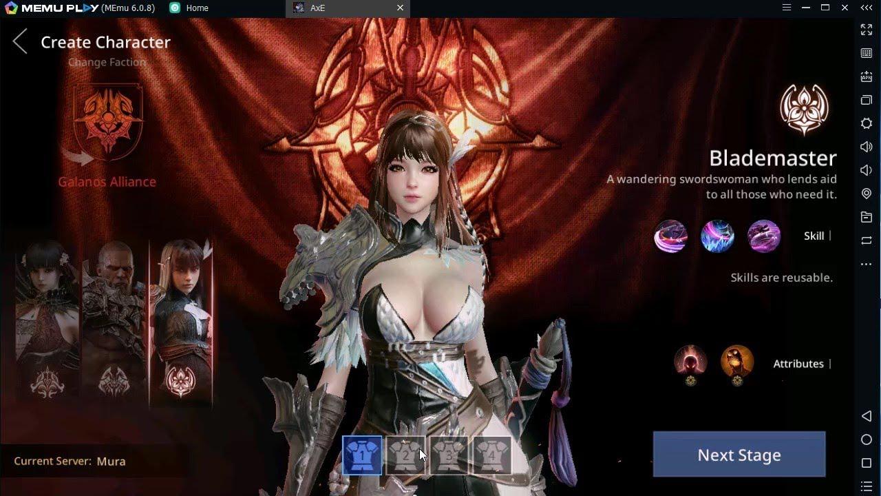 Hướng dẫn cài đặt và chơi AxE: Alliance x Empire trên PC với Memu
