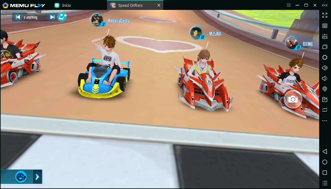 Jogar Garena Speed Drifters no PC fraco