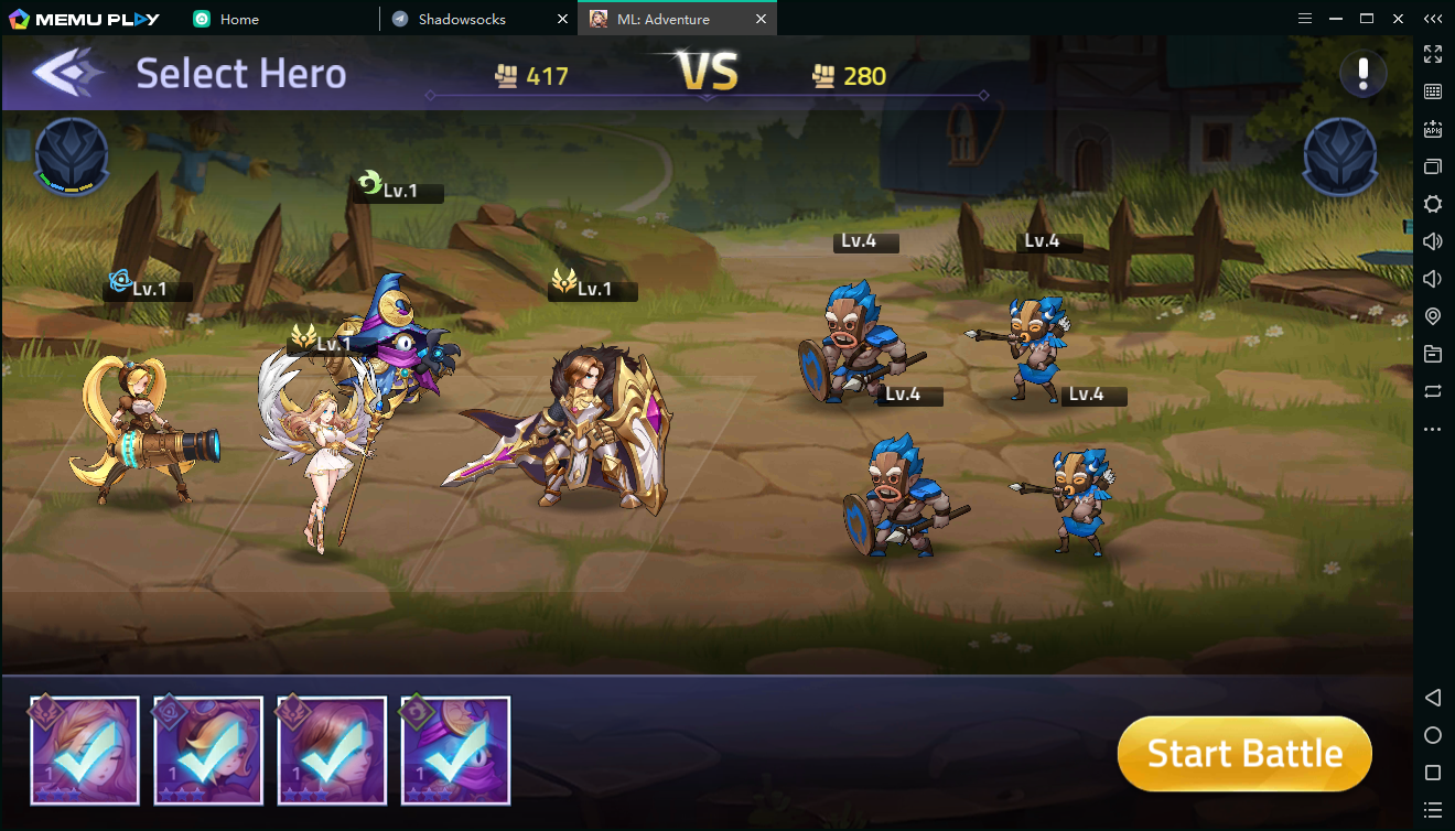 Download and play Mobile Legends: Adventure on PC