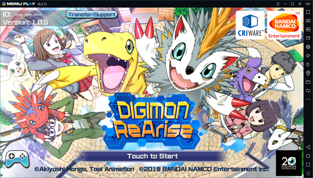Download and play DIGIMON ReArise on PC with MEmu