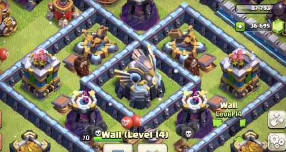New Levels in Clash of Clans Update