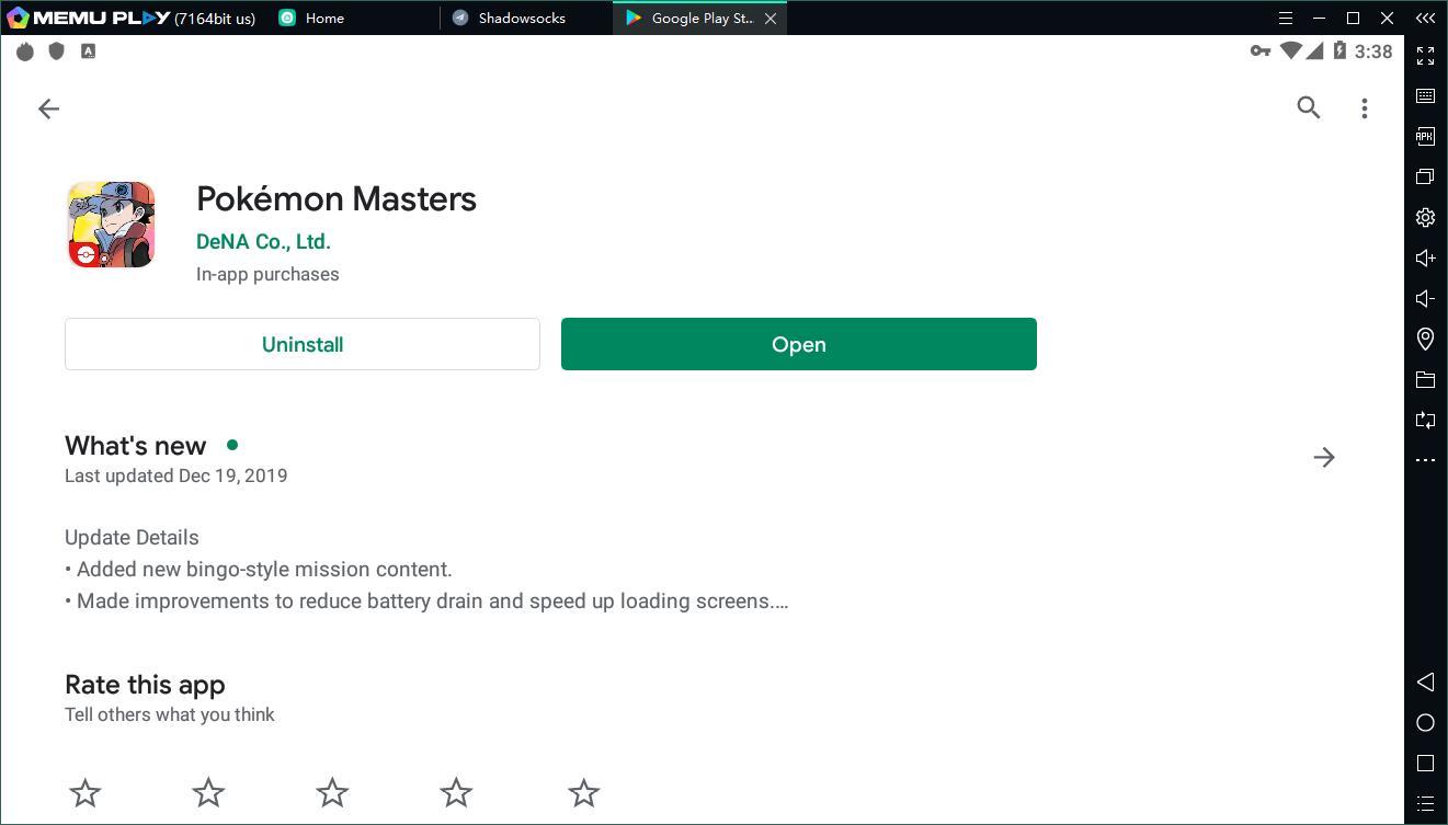 64 bit android emulator pokemon master