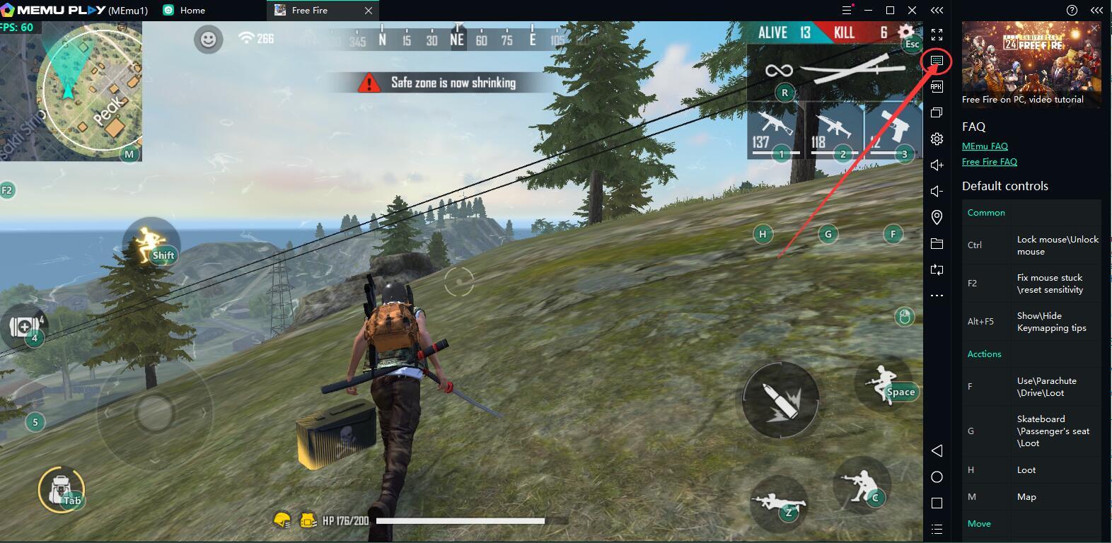 free fire smart mode