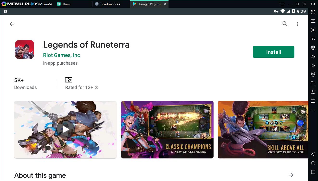 Legends of Runeterra pc
