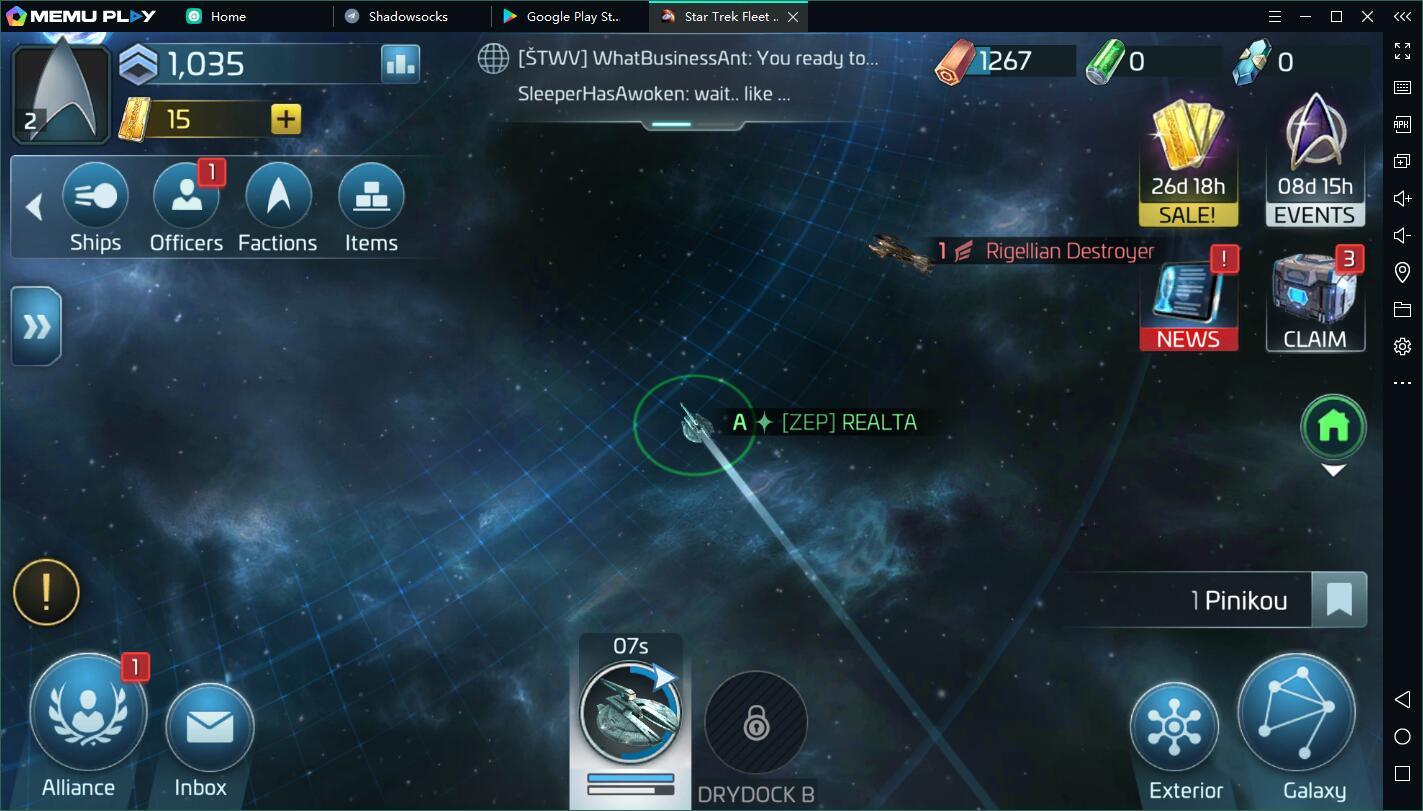Star Trek Fleet Command pc