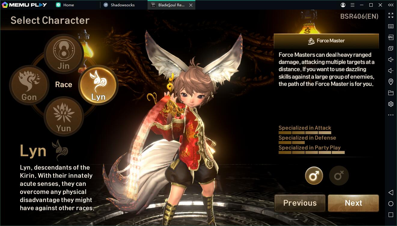 Blade&Soul Revolution force master