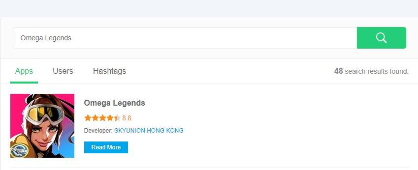 Download Omega Legends APK