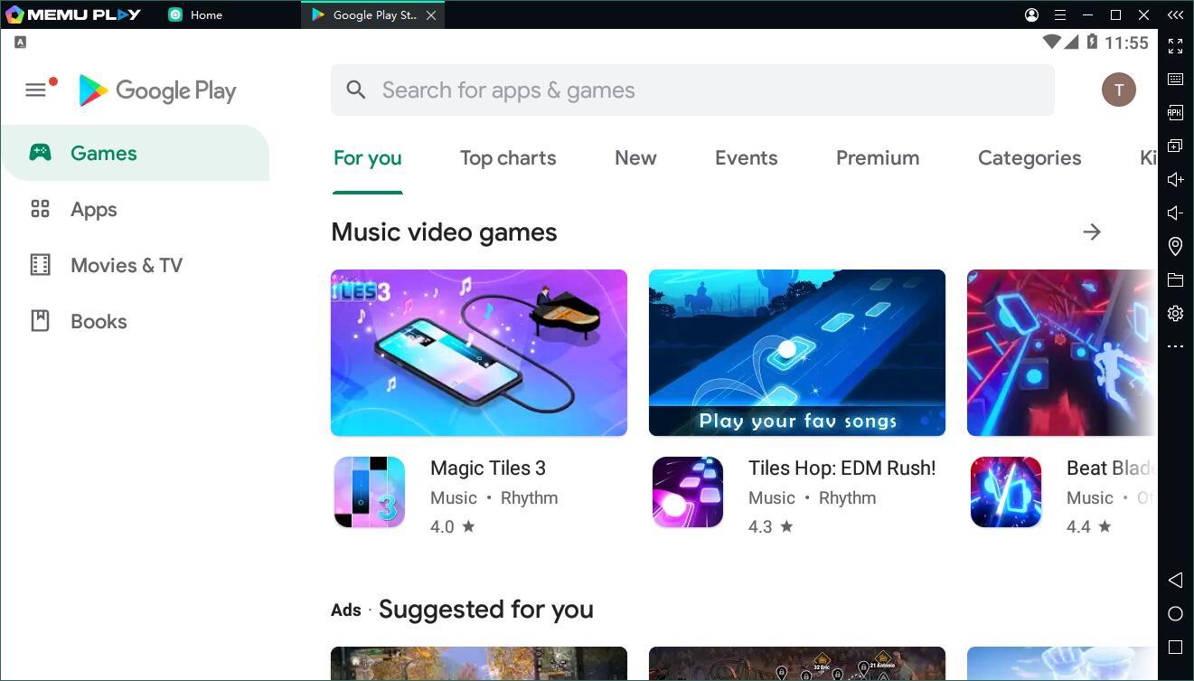 MEmu - Play Store