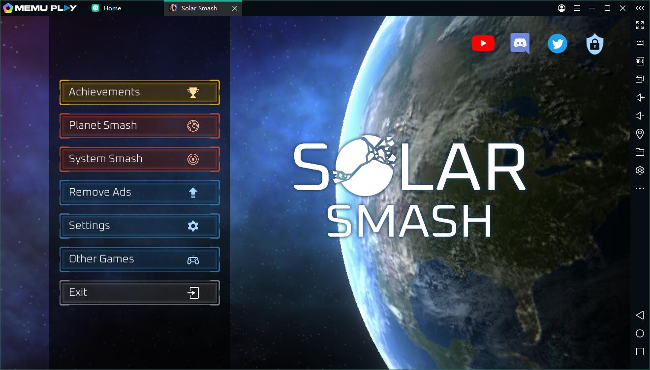 Destroy the Planet - Play Solar Smash on PC PC