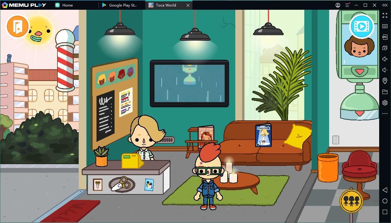 Téléchargez et jouez gratuitement à Toca life World sur PC