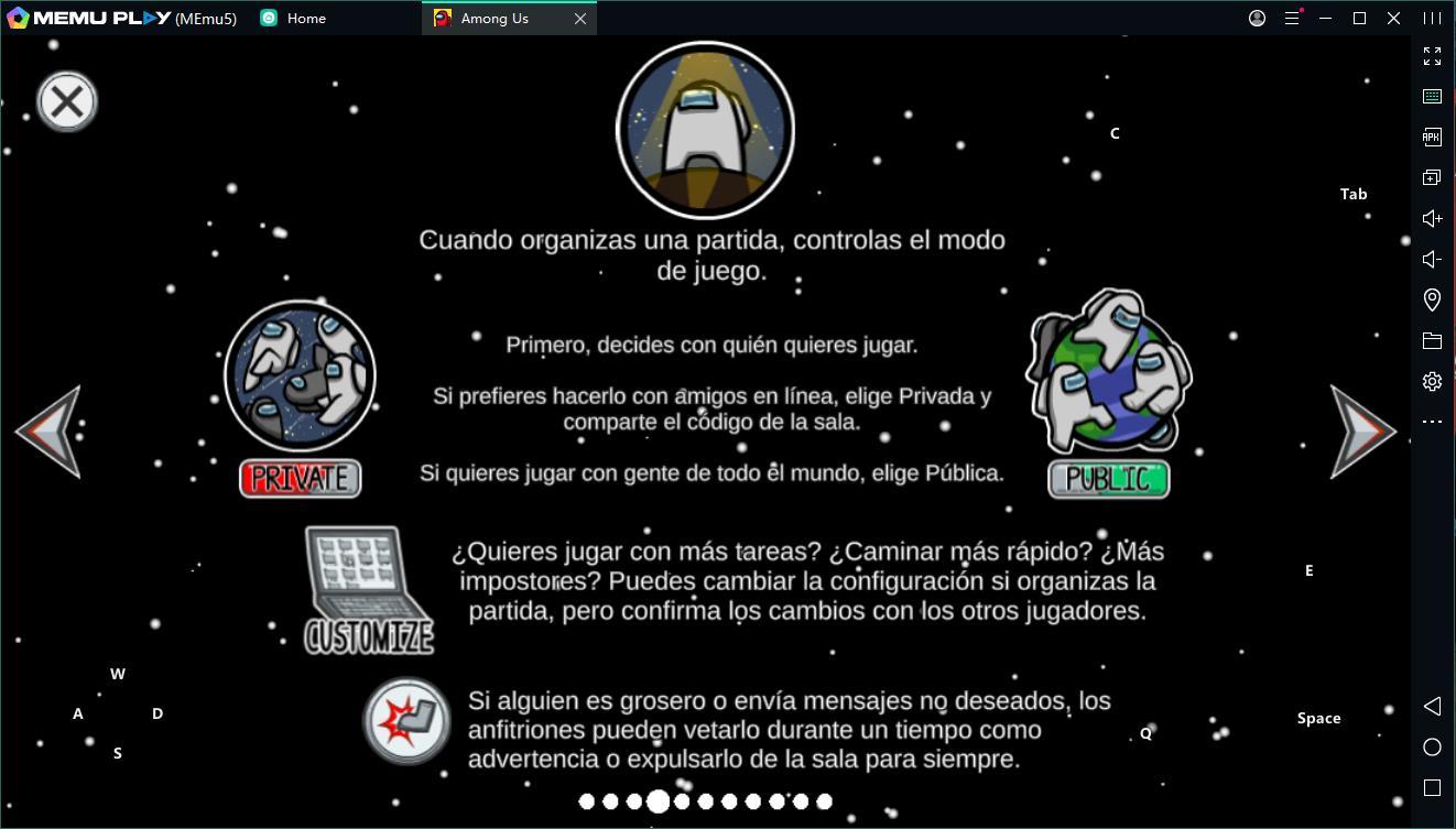 Descargar y jugar juego Among Us en el ordenador
