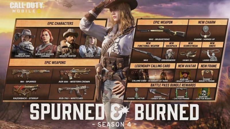 COD Mobile on PC Season 4 2021: Spurned & Burned update: New modes, characters, Clan Wars and more PC